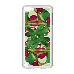 Floral Print Colorful Pattern Apple Ipod Touch 5 Case (white)