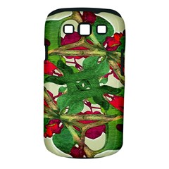 Floral Print Colorful Pattern Samsung Galaxy S Iii Classic Hardshell Case (pc+silicone)