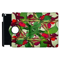 Floral Print Colorful Pattern Apple Ipad 3/4 Flip 360 Case