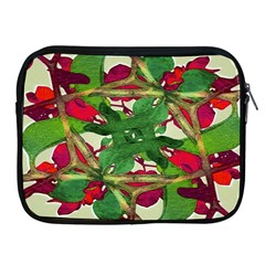 Floral Print Colorful Pattern Apple Ipad Zippered Sleeve