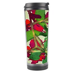 Floral Print Colorful Pattern Travel Tumbler