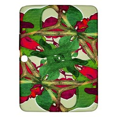 Floral Print Colorful Pattern Samsung Galaxy Tab 3 (10 1 ) P5200 Hardshell Case