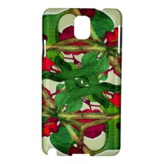 Floral Print Colorful Pattern Samsung Galaxy Note 3 N9005 Hardshell Case