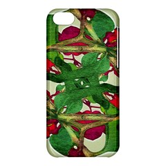 Floral Print Colorful Pattern Apple Iphone 5c Hardshell Case