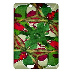 Floral Print Colorful Pattern Kindle Fire HD (2013) Hardshell Case