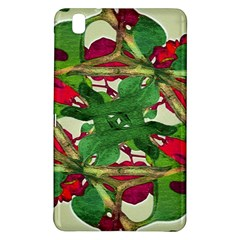 Floral Print Colorful Pattern Samsung Galaxy Tab Pro 8.4 Hardshell Case