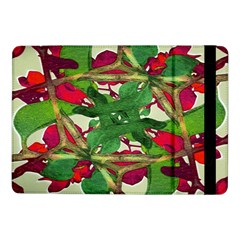 Floral Print Colorful Pattern Samsung Galaxy Tab Pro 10 1  Flip Case