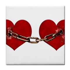 Unbreakable Love Concept Ceramic Tile