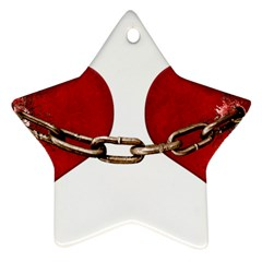 Unbreakable Love Concept Star Ornament