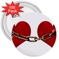 Unbreakable Love Concept 3  Button (100 Pack)