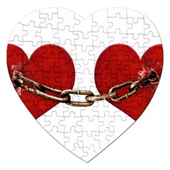Unbreakable Love Concept Jigsaw Puzzle (heart)