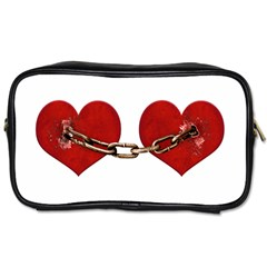 Unbreakable Love Concept Travel Toiletry Bag (two Sides)