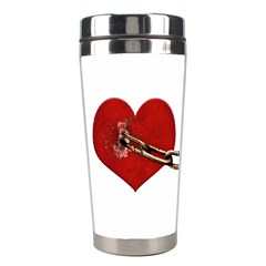 Unbreakable Love Concept Stainless Steel Travel Tumbler