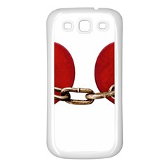 Unbreakable Love Concept Samsung Galaxy S3 Back Case (white)
