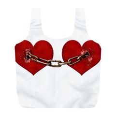 Unbreakable Love Concept Reusable Bag (L)