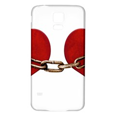 Unbreakable Love Concept Samsung Galaxy S5 Back Case (White)
