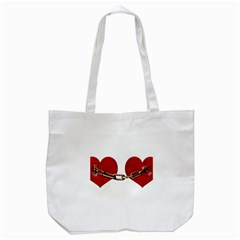 Unbreakable Love Concept Tote Bag (White)