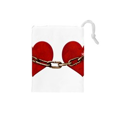 Unbreakable Love Concept Drawstring Pouch (Small)