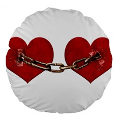 Unbreakable Love Concept 18  Premium Flano Round Cushion