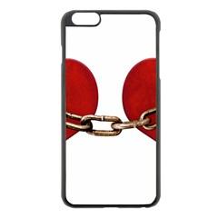 Unbreakable Love Concept Apple Iphone 6 Plus Black Enamel Case
