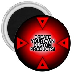 Create Your Own Custom Products And Gifts 3  Button Magnet