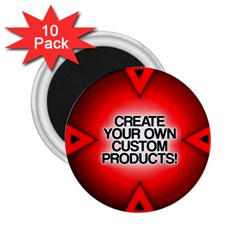 Create Your Own Custom Products And Gifts 2 25  Button Magnet (10 Pack)