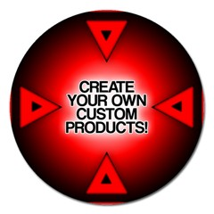 Create Your Own Custom Products And Gifts Magnet 5  (round)