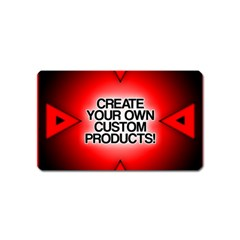 Create Your Own Custom Products And Gifts Magnet (name Card)