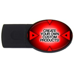 Create Your Own Custom Products And Gifts 4gb Usb Flash Drive (oval)