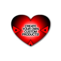 Create Your Own Custom Products And Gifts Drink Coasters 4 Pack (heart)