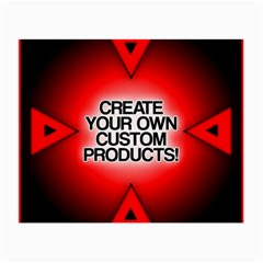 Create Your Own Custom Products And Gifts Glasses Cloth (Small, Two Sided)