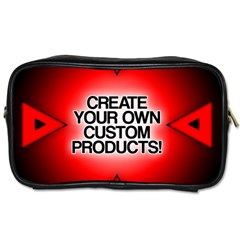 Create Your Own Custom Products And Gifts Travel Toiletry Bag (two Sides)