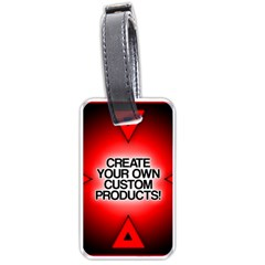 Create Your Own Custom Products And Gifts Luggage Tag (one Side)