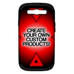 Create Your Own Custom Products And Gifts Samsung Galaxy S Iii Hardshell Case (pc+silicone)