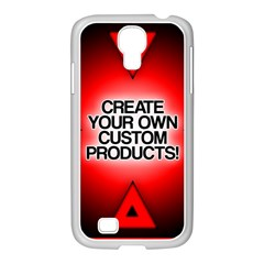 Create Your Own Custom Products And Gifts Samsung GALAXY S4 I9500/ I9505 Case (White)