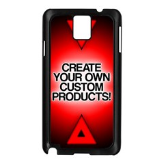 Create Your Own Custom Products And Gifts Samsung Galaxy Note 3 N9005 Case (Black)