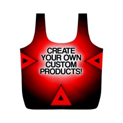 Create Your Own Custom Products And Gifts Reusable Bag (M)