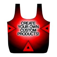 Create Your Own Custom Products And Gifts Reusable Bag (l)