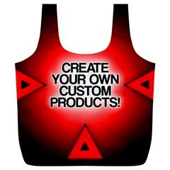Create Your Own Custom Products And Gifts Reusable Bag (xl)