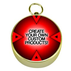 Create Your Own Custom Products And Gifts Gold Compass