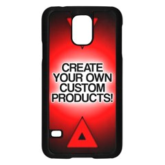 Create Your Own Custom Products And Gifts Samsung Galaxy S5 Case (black)