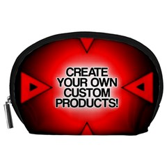 Create Your Own Custom Products And Gifts Accessory Pouch (Large)
