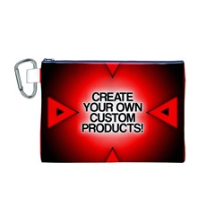 Create Your Own Custom Products And Gifts Canvas Cosmetic Bag (Medium)