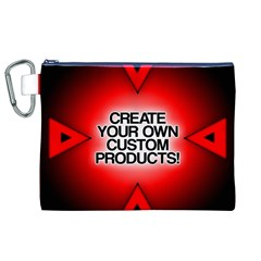 Create Your Own Custom Products And Gifts Canvas Cosmetic Bag (XL)