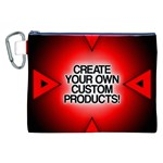 Create Your Own Custom Products And Gifts Canvas Cosmetic Bag (XXL) Front