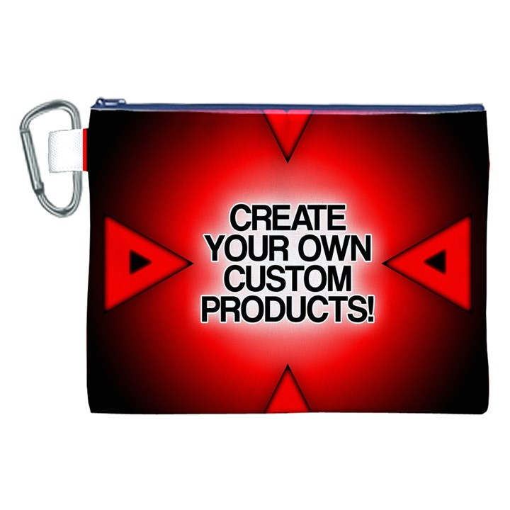 Create Your Own Custom Products And Gifts Canvas Cosmetic Bag (XXL)