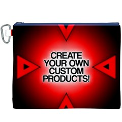 Create Your Own Custom Products And Gifts Canvas Cosmetic Bag (XXXL)