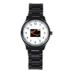 Abraham Sport Metal Watch (black)