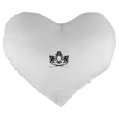 Rembrandt Designs 19  Premium Flano Heart Shape Cushion