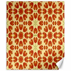 Colorful Floral Print Vector Style Canvas 20  X 24  (unframed)